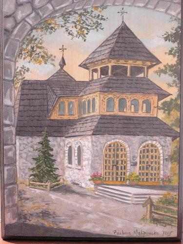 Barbara Malinowska: Kaplica na Wiktorówkach II