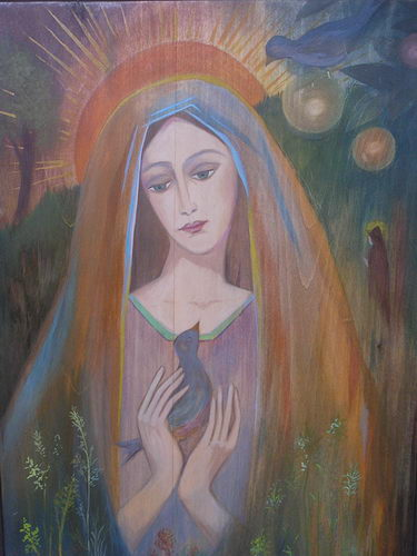 Barbara Malinowska: Madonna franciszkańska