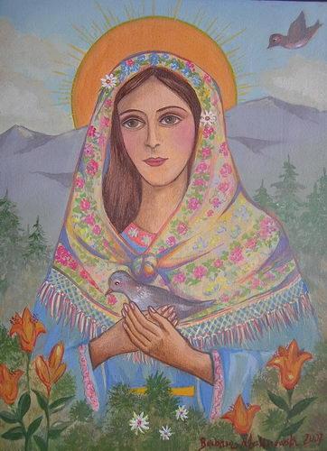 Barbara Malinowska: Madonna góralska