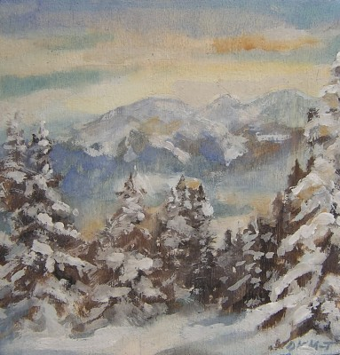 Konsuela Madejska-Turska: Zima w Zakopanem