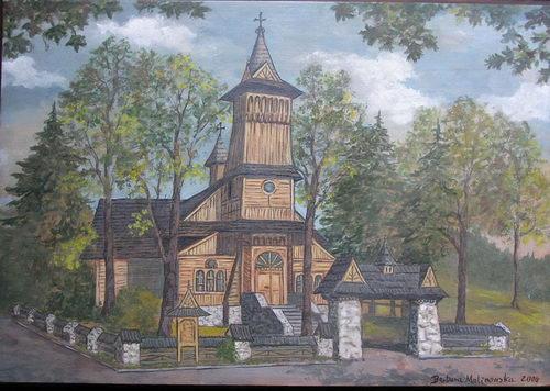 Barbara Malinowska: Kościół w Kościelisku